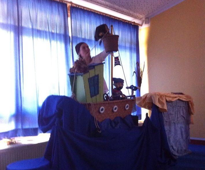 Piratenpuppenspiel Hasbergen