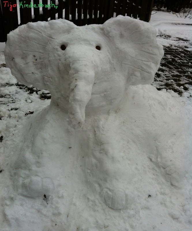 Schneelefant, Snowelephant