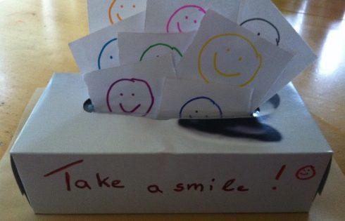 take a smile, smilebox
