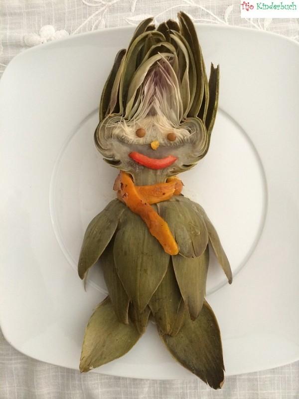 Artichockenmännchen, foodart