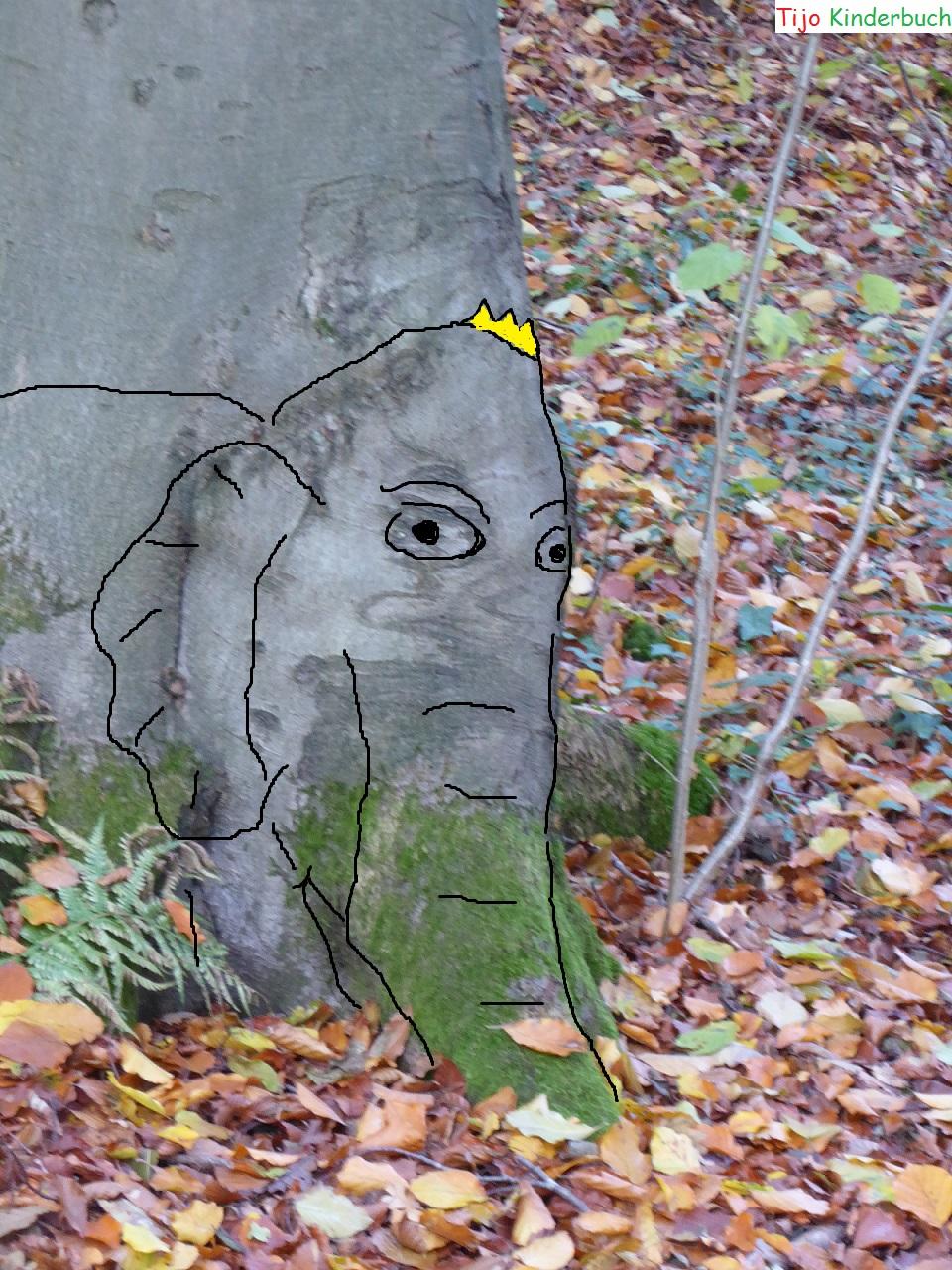 Baum Elefant