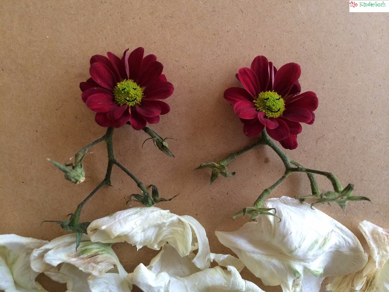 running flowers