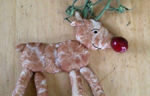 Marzipan Rentier Rudolf