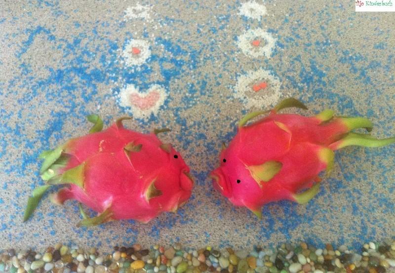 Kaktusfrüchte Fische