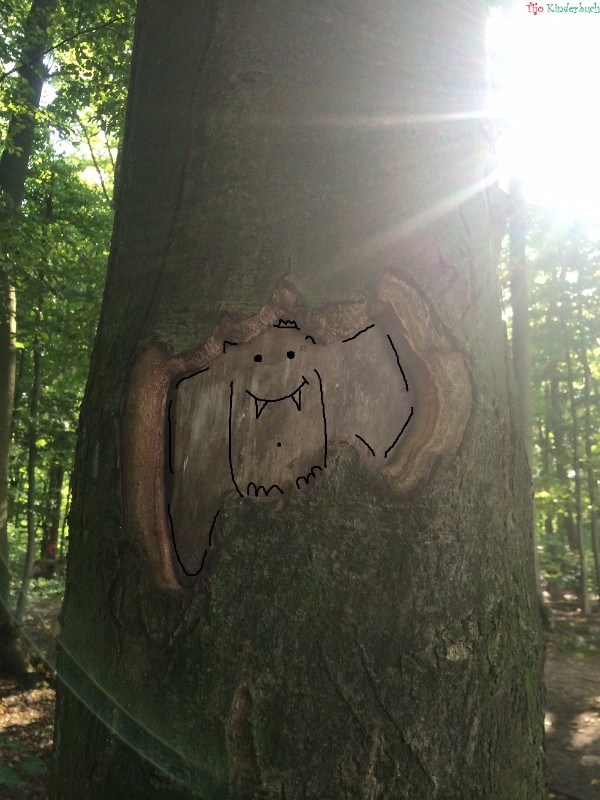 Baum Fledermaus