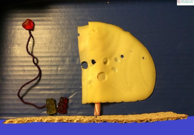 Gummiboot Käsesegel