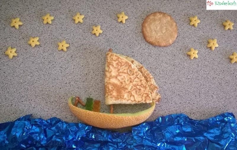 Melonenboot, foodart