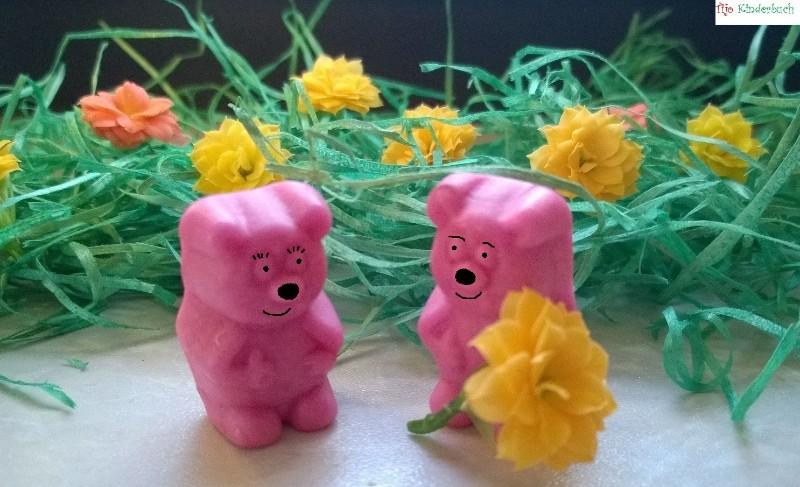 Gummibärchen mit Blume