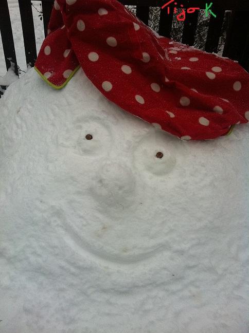 smart snowman