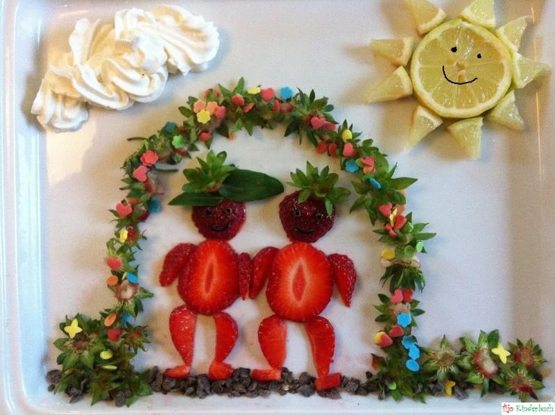 Erdbeerpärchen