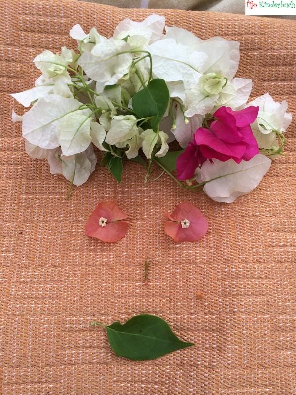 Blumen, i see faces