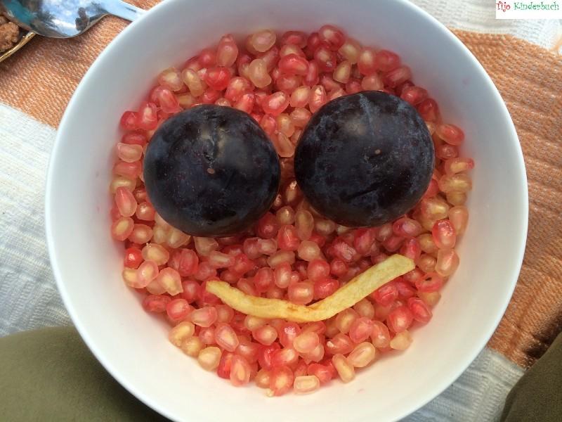 Granatapfelsmiley