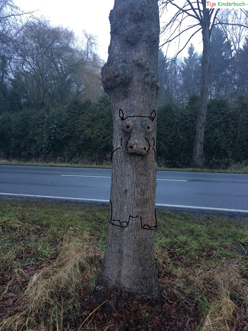 Baum Flusspferd