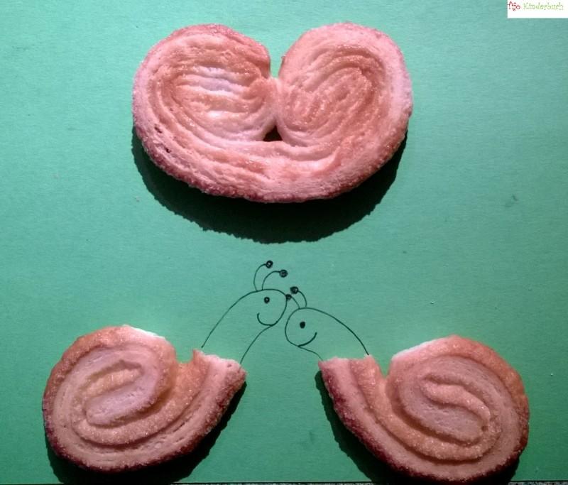 snails in love, Schweineöhrchen