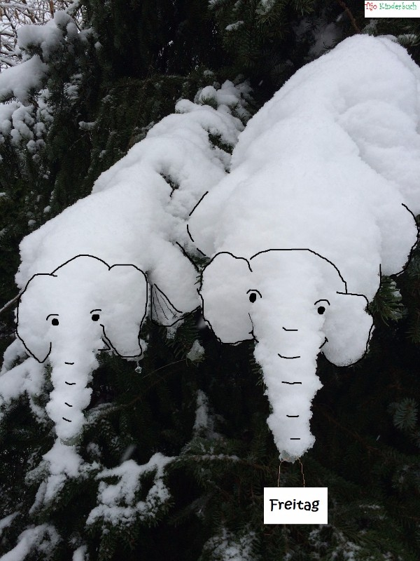 Schneelefanten