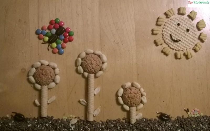 Erdnuss Sonnenblumen