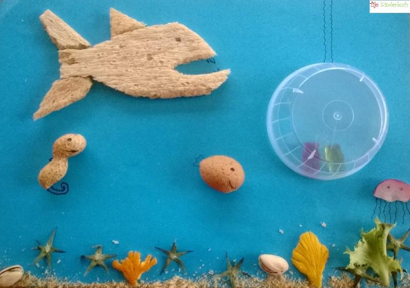 underwater foodart