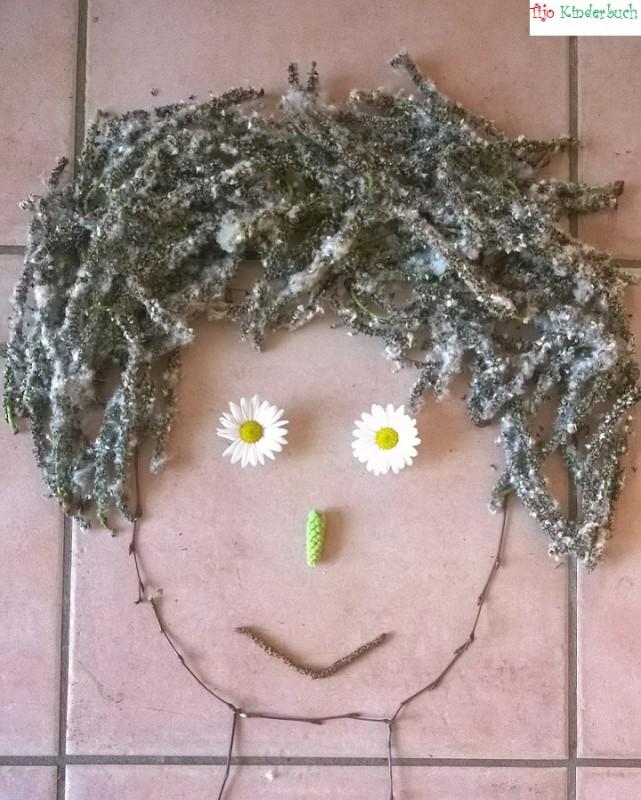 Blüten, i see faces