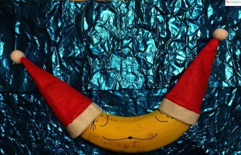 Weihnachtsbananen