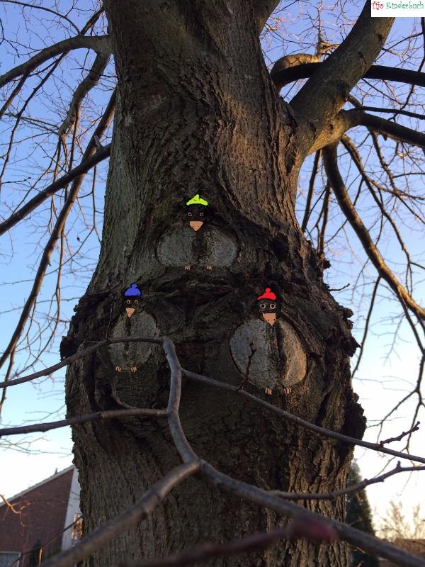 Vögel, Birds, treeart