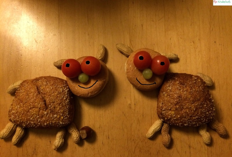 lustige Brottiere