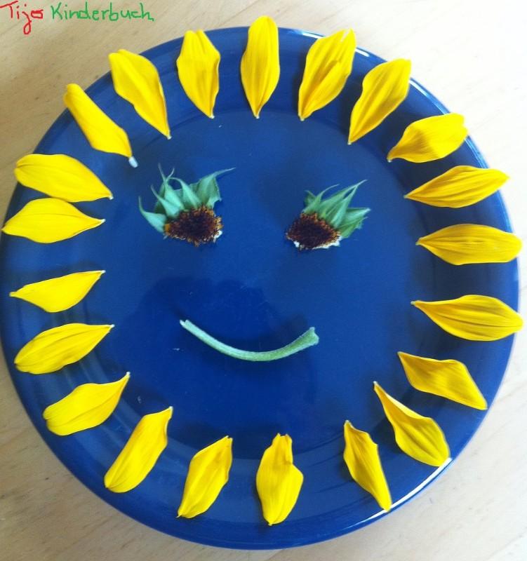 Sonnenblumenteller