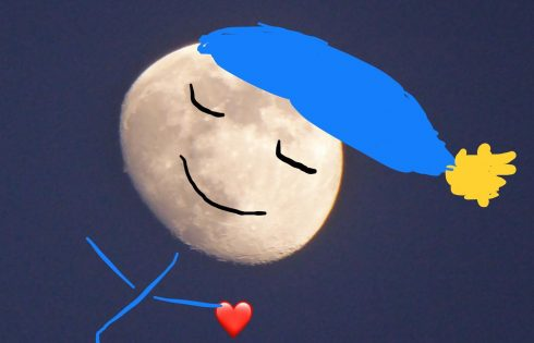 Mondmännchen