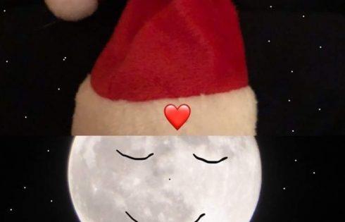 Weihnachts Mond